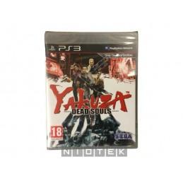 Yakuza: Dead Souls PS3...