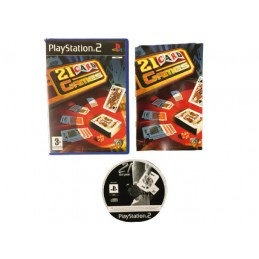 21 Card Games PS2...