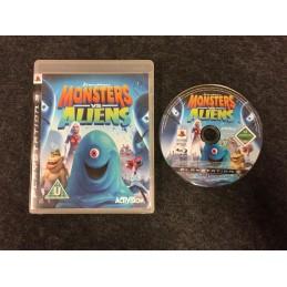 Monsters vs Aliens PAL PS3...