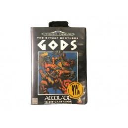 Gods Sega Mega Drive KOMPLETT